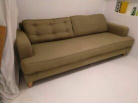 Heals Mistral four seat sofa (£2439 new) central London bargain