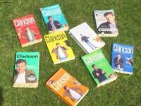 Jeremy Clarkson books - nine in total
