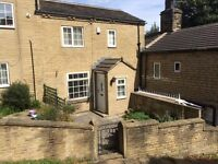 Quirky cottage in secluded and desirable part of Brighouse to rent -