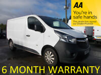 Vauxhall, VIVARO, Panel Van, 2016, Manual, 1598 (cc)
