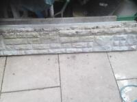 3 rock face gravel boards