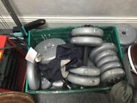 York dumbbells and barbells weights
