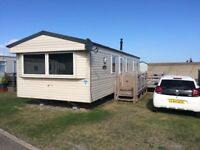 Static Caravan 2013 Willerby Sunset 35 x 12, Lowestoft C/H, D/G, Decking, Fully Loaded, immaculate
