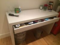 Ikea MALM Dressing table/small desk with drawer in great condition!