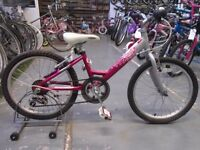 GIRLS RALEIGH KRUSH BIKE