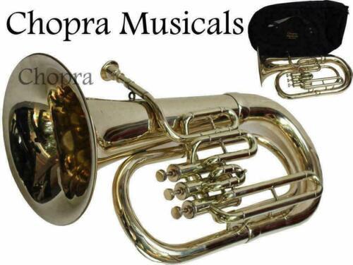 Euphonium 3 Valves Shinning Brass Bb FLAT