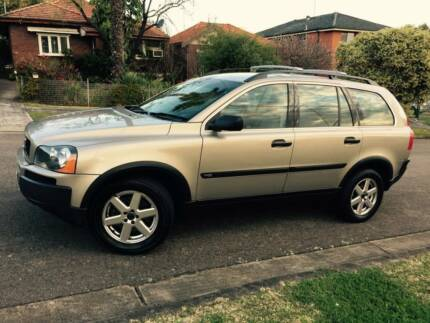 2004 7 Seater Volvo XC90 Luxury Leather Low Ks Logbooks 2 Keys A1 Meadowbank Ryde Area Preview