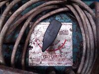 Oxford Welder 240v mains, adjustable & selectable 50v and 80v output, oil colled