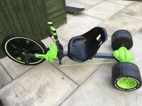 20' Inch Huffy Green Machine Kids Ride on Tricycle Steel Frame