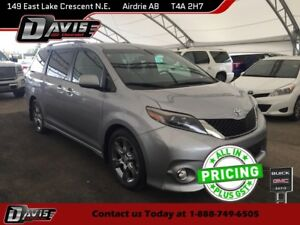 2015 Toyota Sienna HTD/LTHR SEATS, REAR VISION CAMERA, POWER...