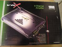 VR X No. VR10004c 1000 Watt 4 Channel Amplifier.