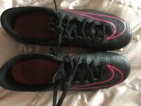 Nike mercurial black football boots size 7