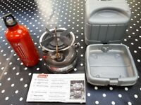 Coleman (unleaded petrol / Coleman Fuel) Stove for fishing or camping