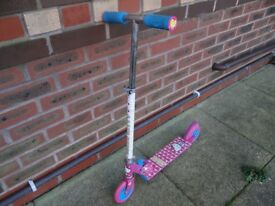 Hello Kitty child's scooter