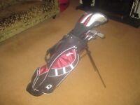 1 x set of kids Wilson Golf clubs