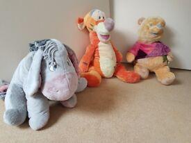 Disney teddys x3 open to offers
