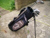 Set of Ram golf clubs. . Ideal for a beginner.