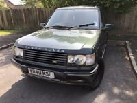 2000 Range Rover SE, MOT and TAX - ready to drive, ideal for towing caravan, lovely powerful truck