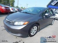 2012 Honda Civic Sdn LX **31,88$/sem**