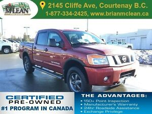 2014 Nissan Titan PRO-4X Leather Sunroof Navigation