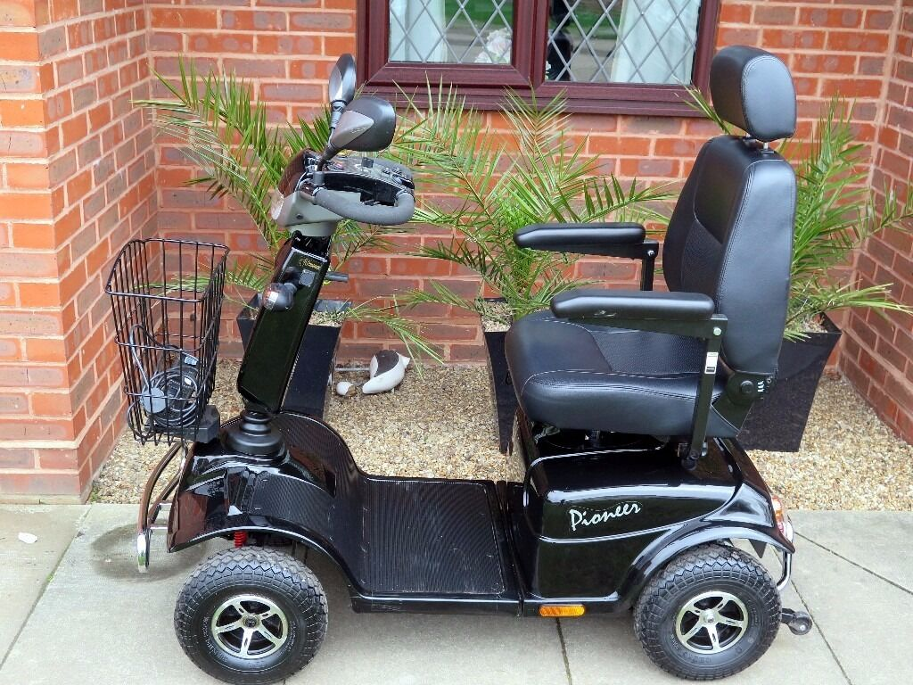 Look what I Have For You Today A Mint Rascal Pioneer 8mph Mobility Scooterin Norwich, NorfolkGumtree - Look what I Have For You Today A Mint Rascal Pioneer 8mph Mobility Scooter Very High Specification High and Low Speed switch Emergency Brake Horn Directional Indicators Emergency Flashing Indicators Lights Front & Rear Fully Adjustable Captains Seat...