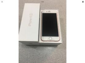 iPhone 6s 32gb rose gold brand new