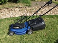 Einhell electric lawn mower 1437 BG EM . Great condition only 24 months old
