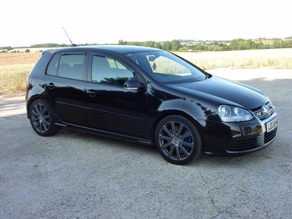 Vw golf r32 black