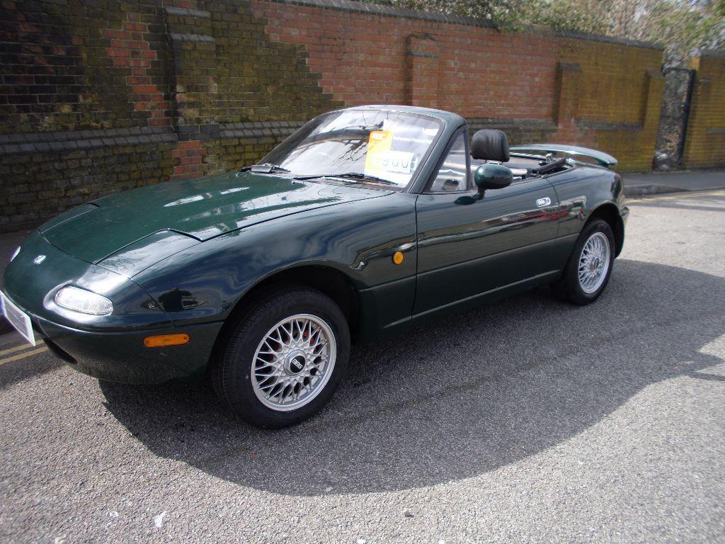 Mazda Mx5 Monza 1 6 Mk1 Ltd Edition British Racing Green 56900 Miles Uk Car In Portsmouth