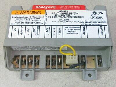controls  honeywell s8610u