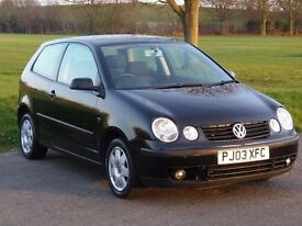 Volkswagen 1.2 2003 with lots of history and a NEW MOT