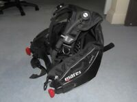 MARES DRAGON SCUBA DIVING BCD MENS LARGE AMAZING CONDITION