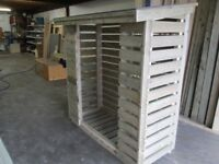 fully treated log store for sale