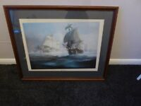 lovely old collectible vintage picture three