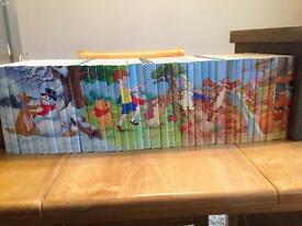Full set of 38 Winne the pooh Seasons Books
