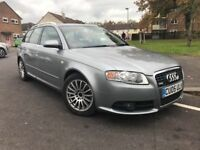 2005 Audi A4 S-line Quattro, 12 months MOT, Estate, nice and tidy