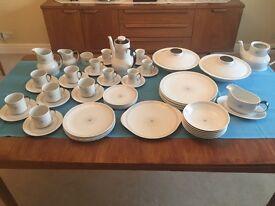 Royal Doulton: Morning Star china - 60 pieces