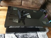 Black high gloss coffee table for sale