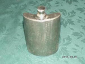 Old Chrome coloured Flask