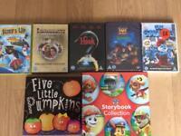 Kids DVD/book bundle