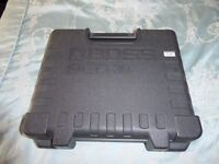 BOSS DCB-30 Case for 3 guitar pedals + Sanyo Eneloop Pedal Juice 9V Li-ion Battery