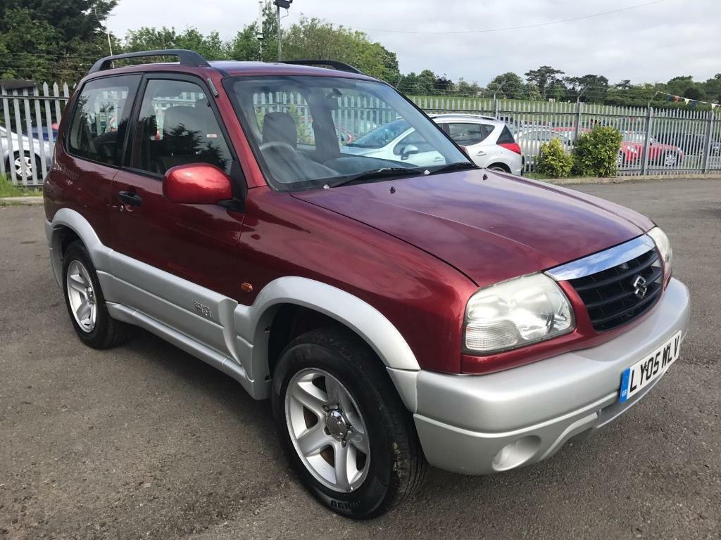 suzuki grand vitara 1 6 se 3 door 4x4 red 2005 in maidstone kent gumtree. Black Bedroom Furniture Sets. Home Design Ideas