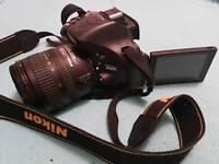 Nikon 5200 SLR 24.1MP, nikkor 18-70mm
