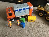 Playmobil trucks x3