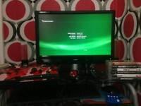 PS3 SLIM 320GB w/ 6 games inc GTA V