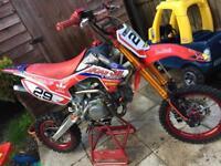 CW pitbike 140