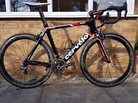 2012 Cervelo S2 , size 56 frame, Immaculate condition.
