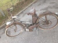 Mobylette moped 50's? resto project - vintage autocycle/ cyclemotor raleigh nsu quickly ect?