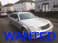 Wanted Mercedes-Benz Cars Any Condition