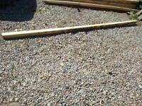 Reclaimed wooden posts for sale